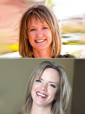 Sandi Hudson & Lisa Weber Headshot