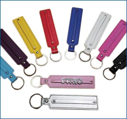 Rhinestone Keychain - Personalized