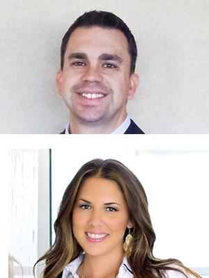 Headshot of Bruce Bernstein and Lauren Kelly