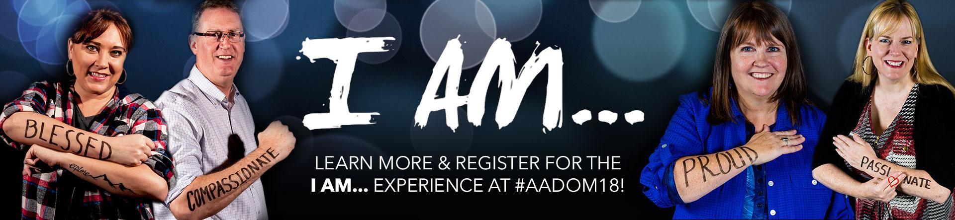 Banner Photo for AADOM's 2018 Keynote Speaker