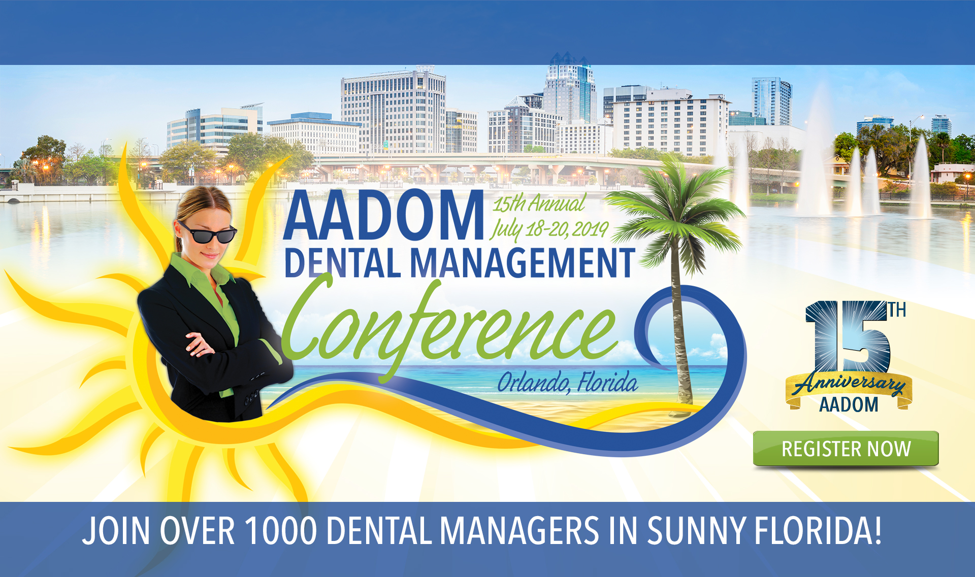 Banner Photo for AADOM's 2018 Annual Conference
