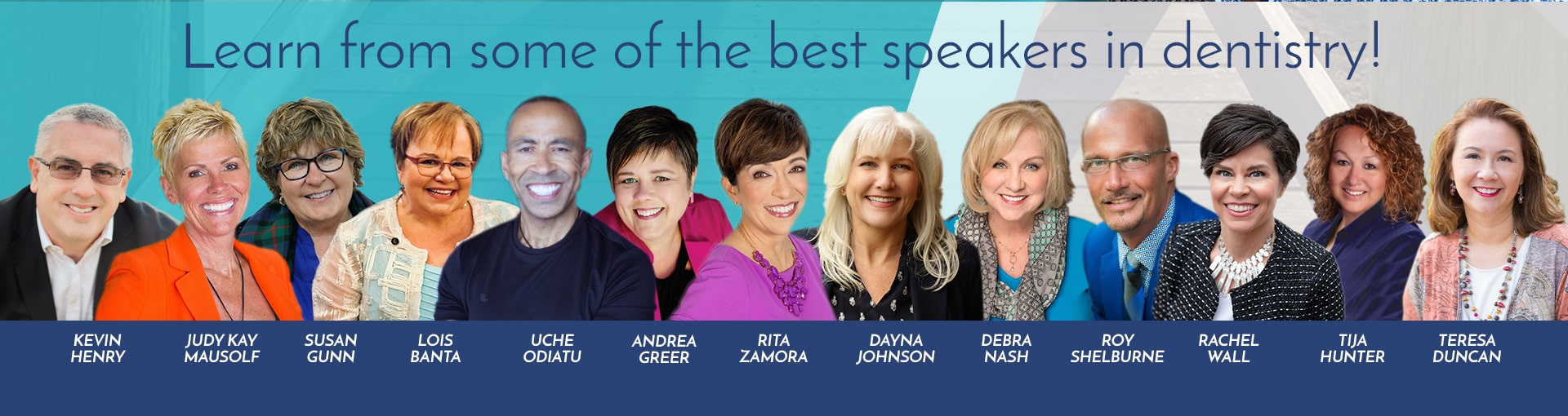Banner Photo for AADOM's 2018 Speaker LIneup